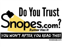 Do You Trust Snopes? You Won't After Reading This.