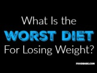 The Worst Diets To Follow