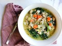 Body-Slimming Italian Turkey Kale Soup