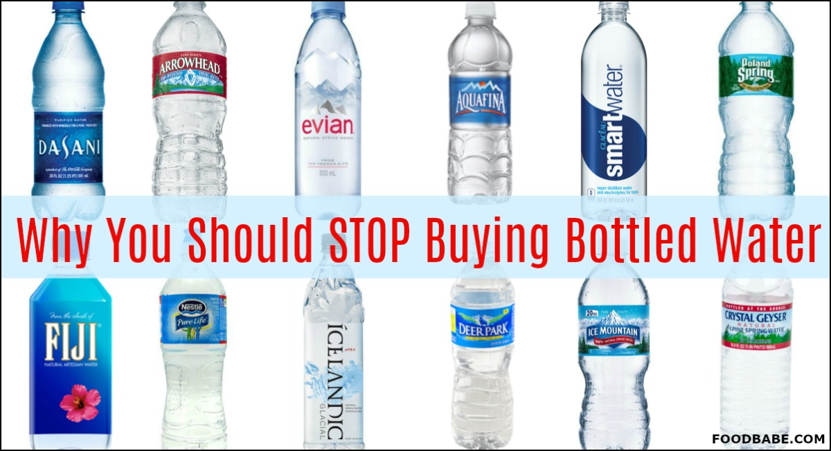 Bottled Water Is Not What You Think