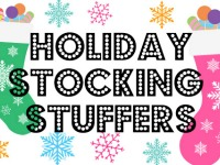 Healthy Holiday Stocking Stuffers List 2017