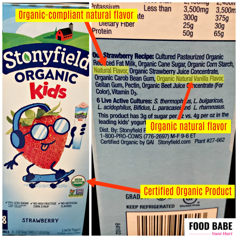 The Differences Between Artificial Flavors, Natural Flavors, Organic