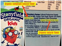 The Differences Between Artificial Flavors, Natural Flavors, Organic Flavors and Other Added Flavors