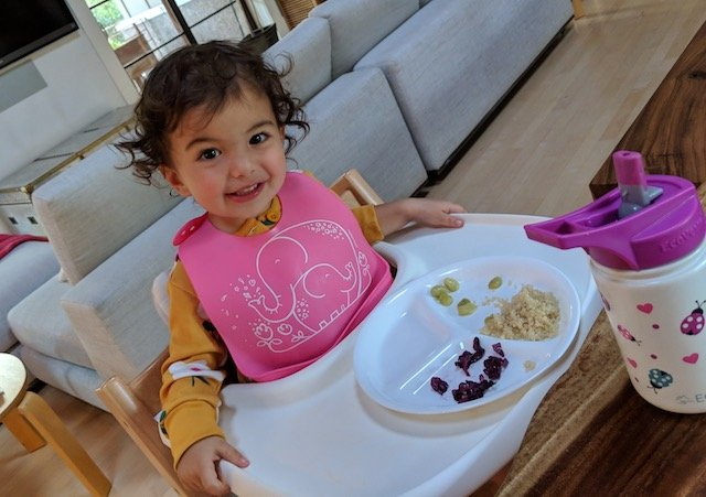 What My Toddler Eats In A Day…