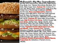 They Say McDonald's Is Removing Artificial Ingredients – But The Menu is Still Full Of Them!