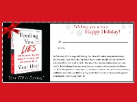 Take A Peek Inside My New Book Feeding You Lies (plus a special announcement)