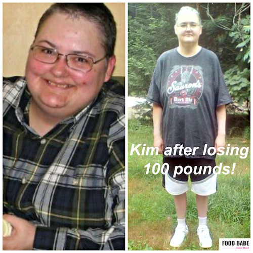Need motivation to change your diet? See what she did (lost 100 pounds) thumbnail