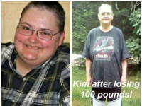 Need motivation to change your diet? See what she did (lost 100 pounds)