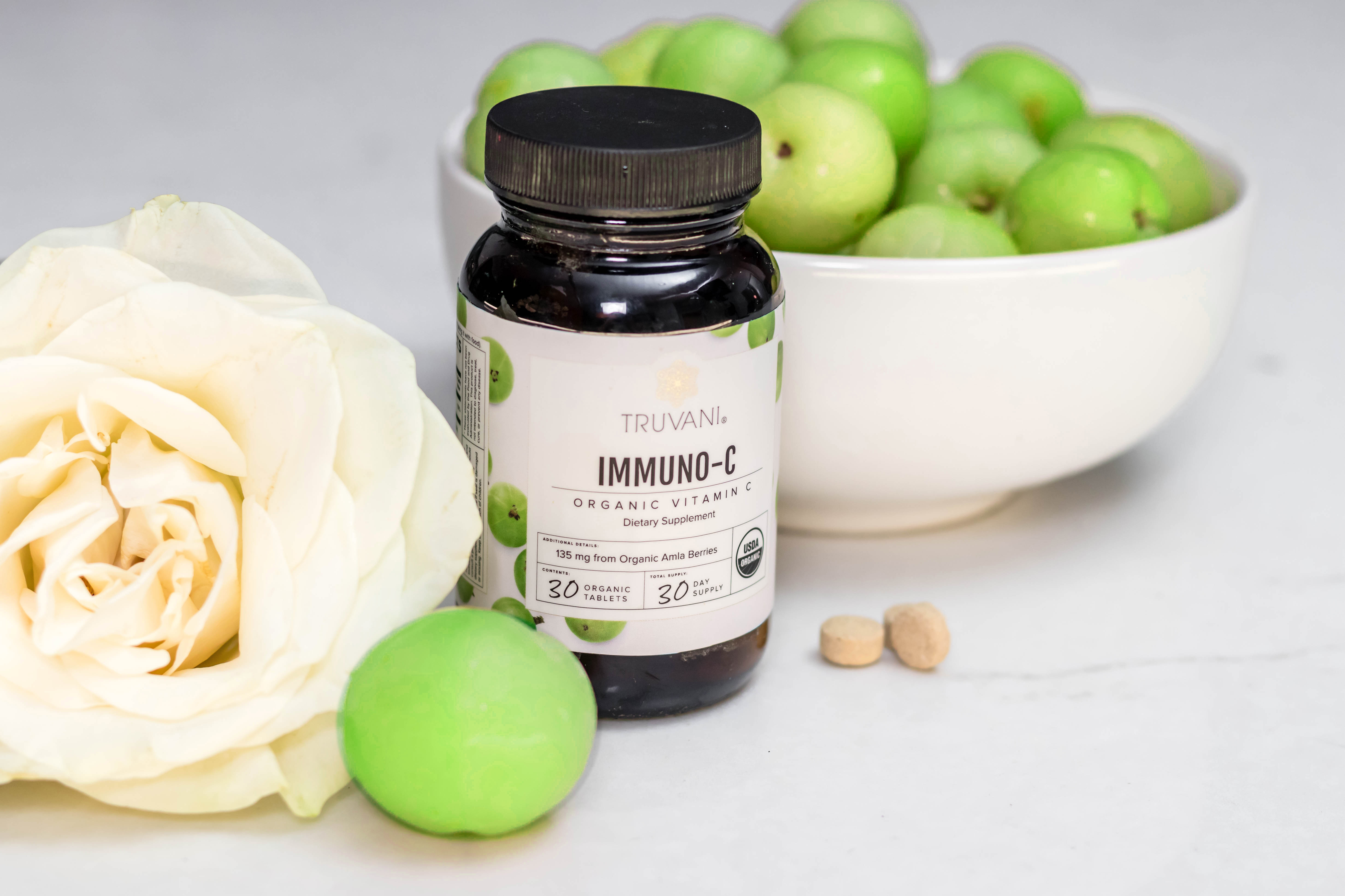 Truvani organic vitamin C from amla berries