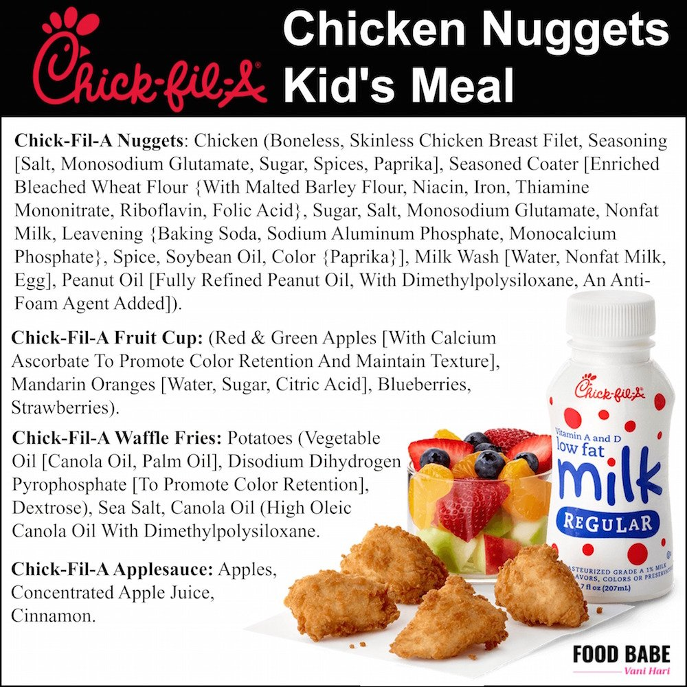 picture about Chick Fil a Printable Cow Costume identify Below are the 55 substances inside of a Chick-fil-A Sandwich