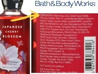 Scented lotions, makeup, and perfume to stop gifting immediately.