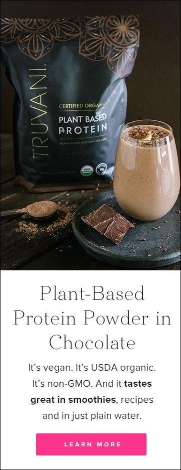 Truvani Chocolate Plant Based Protein