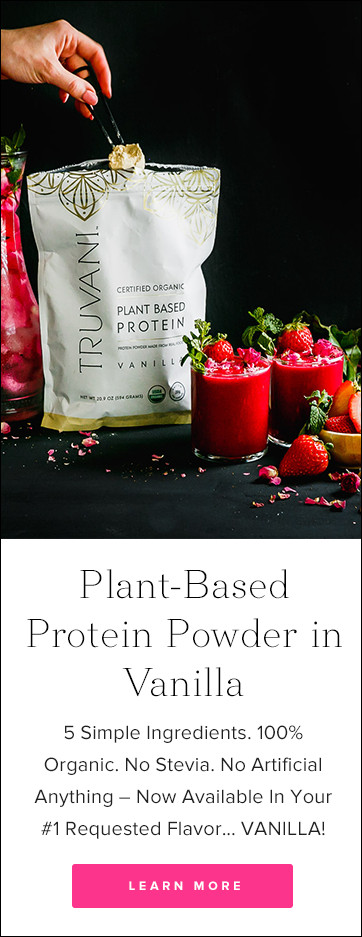 Truvani Vanilla Plant Based Protein