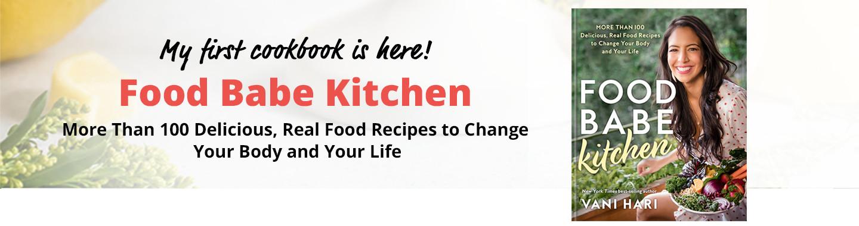 Food Babe Kitchen- Start Here Header