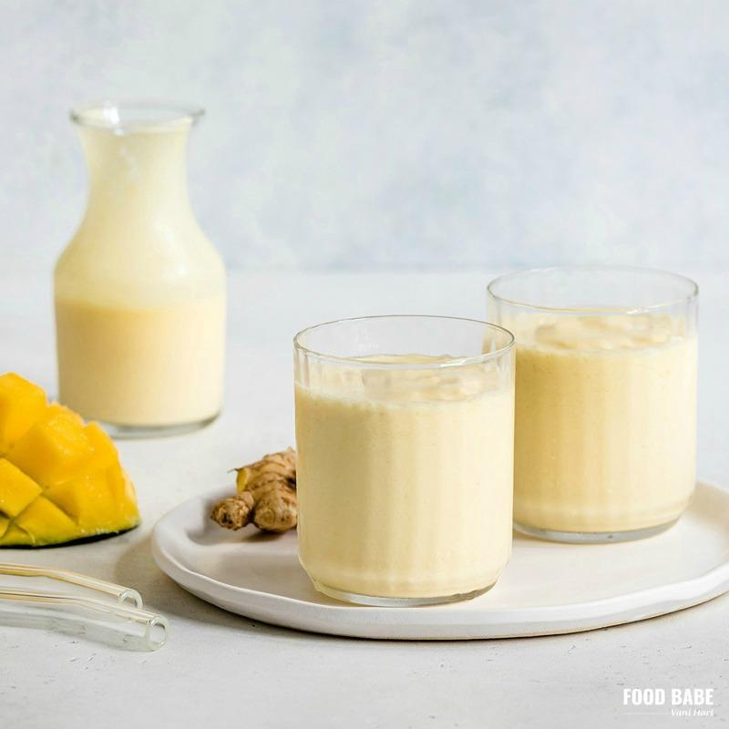 Mango Yogurt Milkshake – A Mango Lassi Tropical Treat!