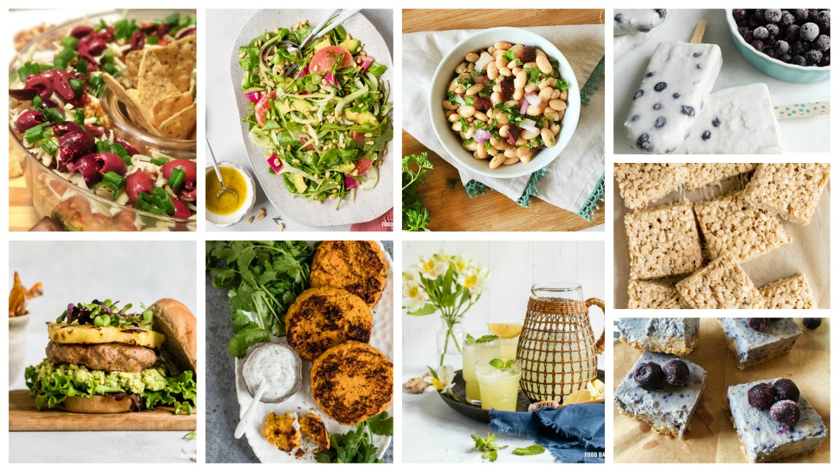 Healthy & Organic 4th of July Cookout Recipes (Entire Meal Mix & Match!)